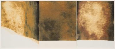 Chuck Kelton - 2014 Untitled A. 10 x 23.5 in.